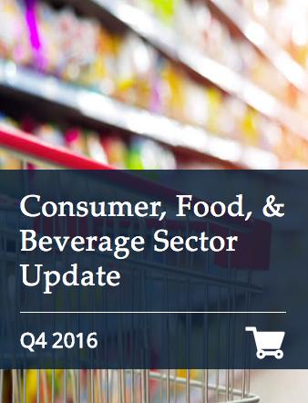 Consumer Food-Beverage Q4 2016