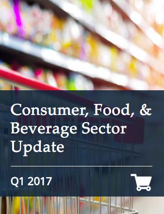 Consumer Food & Beverage Q1 2017