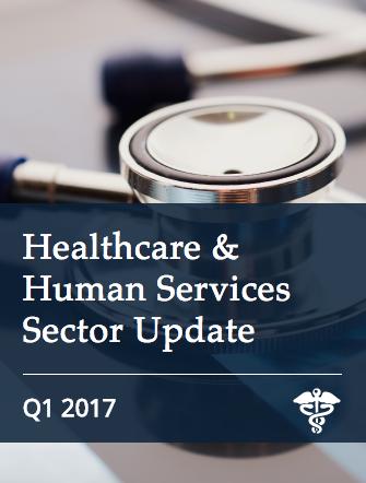 Healthcare & Human Services Q1 2017