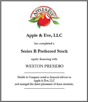 apple & eve, LLC