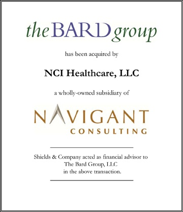 The Bard Group healthcare transactions