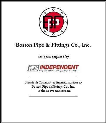 boston pipe & fittings