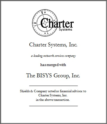 Charter Systems transactions