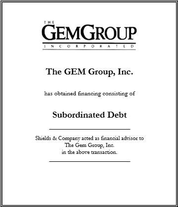 the gem group