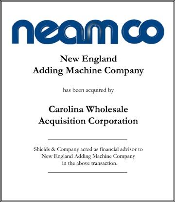 New England Adding Machine Company
