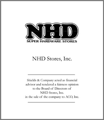 nhd stores