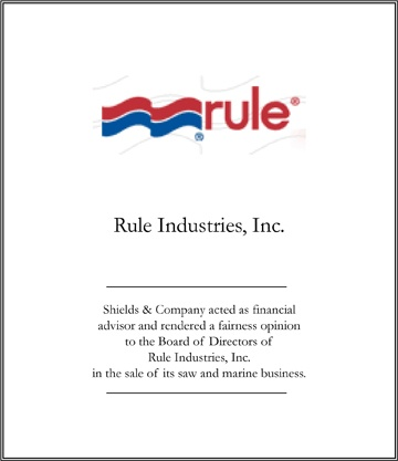 rule industries