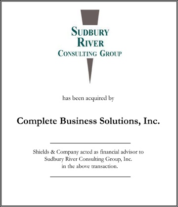 Sudbury River Consulting Group