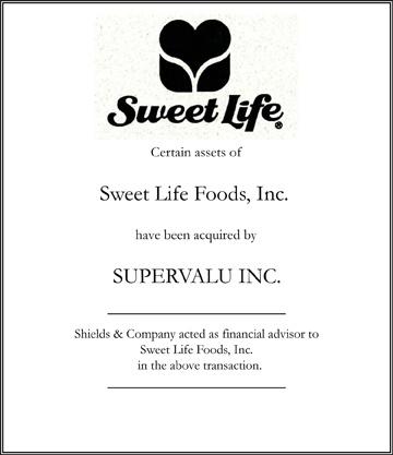sweet life foods