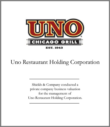 uno restaurant holding corporation