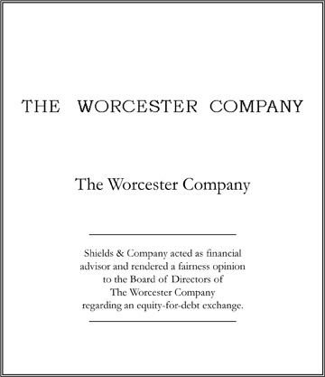 worcester company