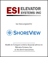 Elevator Systems, Inc.. ESI Tombstone