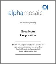 Alphamosaic Limited.