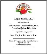 Apples & Eve. apple-eve-northland-deal.jpg