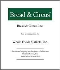 Bread & Circus.