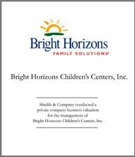 Bright Horizons Children's Centers.
