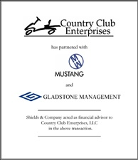 Country Club Enterprises.