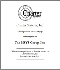Charter Systems, Inc..