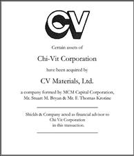 Chi-Vit Corporation.
