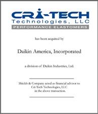 Cri-Tech Technologies.