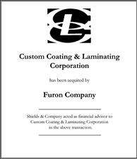 Custom Coating & Laminating Corporation.