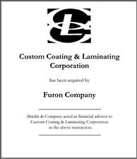 Custom Coating & Laminating Corporation.