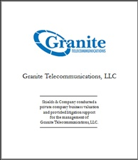 Granite Telecommunications.