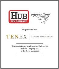 Hub Pen Company. hubpen new.jpg