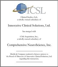 Innovative Clinical Solutions, Ltd.. icsl.jpg