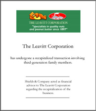 Leavitt Corporation.