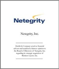 Netegrity.