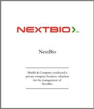 NextBio. nextbio-valuation.jpg