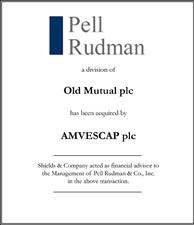 Pell Rudman.