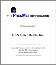 PresMet Corporation.