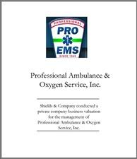 Professional Ambulance & Oxygen Service.