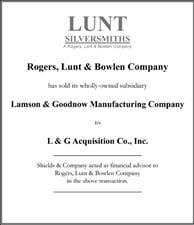 Rogers, Lunt & Bowlen Company.