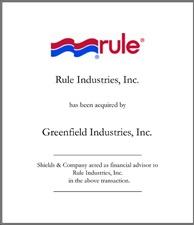 Rule Industries, Inc..