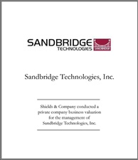 Sandbridge Technologies.