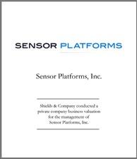 Sensor Platforms.