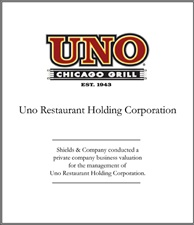Uno Restaurant Holding Corporation. uno-restaurant-valuation.jpg