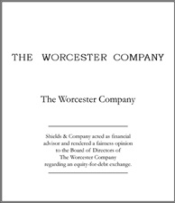 Worcester Company.